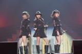 (左から)指原莉乃、松岡はな、多田愛佳=『HKT48全国ツアー〜全国統一終わっとらんけん〜』ファイナルの昼公演= (C)AKS