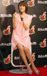 『アベンジャーズ200%ホットトイズ』プレスプレビューに出席した小林麻耶(C)ORICON NewS inc.