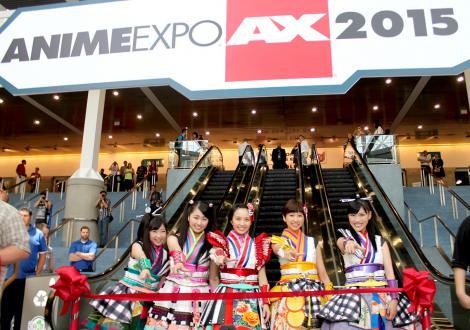 『Anime Expo』のメインアクトとして初のLAライブを行ったももいろクローバーZ