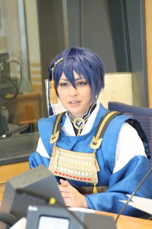 6月30日放送の文化放送『福井謙二 グッモニ』で最近の刀ブームを解説する八木アナウンサー
