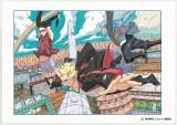『NARUTO-ナルト-外伝〜七代目火影と緋色の花つ月』最終話はセンターカラーで登場。『週刊少年ジャンプ』(集英社)2015年29号より