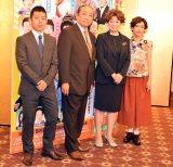 (左から)藤山扇治郎、渋谷天外、水谷八重子、久本雅美(C)ORICON NewS inc.