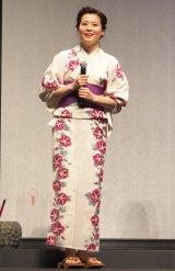 ディズニー/ピクサーの最新作『インサイド・ヘッド』七夕イベントに出席した書家の紫舟氏(C)ORICON NewS inc.