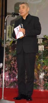 『第41回 放送文化基金賞』の贈呈式に出席した柄本明 (C)ORICON NewS inc.