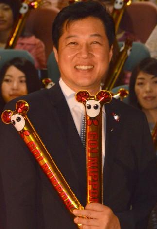 『FIVBワールドカップバレーボール 2015』七夕イベントに出席した川合俊一 (C)ORICON NewS inc.