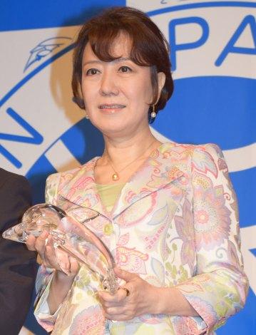 『第16回ベストスイマー2015』の表彰式に出席した中園ミホ (C)ORICON NewS inc.