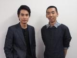 7月7日スタート、NHK・BSプレミアム『本棚食堂』に出演する中村蒼(左)と柄本時生(右) (C)ORICON NewS inc.