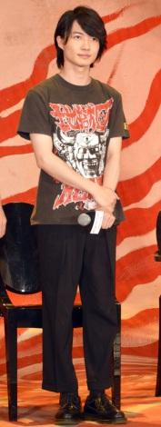 映画『TOO YOUNG TO DIE!若くして死ぬ』のクランクアップ報告記者会見に出席した神木隆之介 (C)ORICON NewS inc.