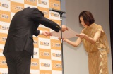 『2015年度 納豆クイーン』表彰式の模様 (C)ORICON NewS inc.