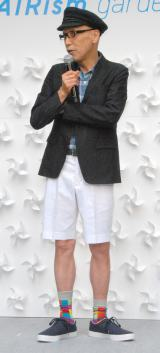 「AIRism garden(エアリズム ガーデン)」オープニング発表会に出席したテリー伊藤 (C)ORICON NewS inc.