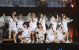 『モーニング娘。コンサートツアー 2013春 ミチシゲ☆イレブンSOUL〜田中れいな卒業記念日〜』でパフォーマンスするモーニング娘。
