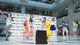 『三井住友VISAポケモンクレジットカード&プリペイドカード』発売記念発表会に登場したLittle Glee Monster (C)ORICON NewS inc.