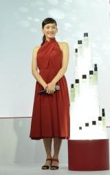 SK-II新CM発表会に登場した綾瀬はるか 30歳を迎え大人へとチェンジした魅力をアピール (C)oricon ME inc.
