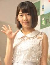 「先輩たちにいろんなことを学びたい」と意気込みを語ったHKT48宮脇咲良 (C)ORICON NewS inc.