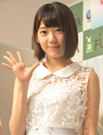 サムネイル 「先輩たちにいろんなことを学びたい」と意気込みを語ったHKT48宮脇咲良 (C)ORICON NewS inc.