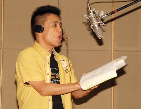 映画『ピクセル』日本語吹き替え版公開アフレコに出席した柳沢慎吾(C)ORICON NewS inc.