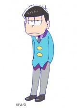 福山潤が演じるアニメ『おそ松さん』の一松…マイペースな皮肉屋で、とにかくしれっと毒をはくことが多い (C)赤塚不二夫/おそ松さん製作委員会