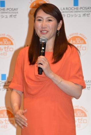 サムネイル 第1子出産を報告した杉山愛 (C)ORICON NewS inc.