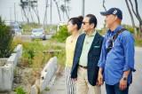 自分の目ではじめて被災地の光景を見たタモリは、何を感じたのか…(C)NHK
