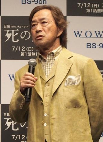 『連続ドラマW 死の臓器』の完成披露試写会に出席した武田鉄矢 (C)ORICON NewS inc.