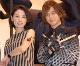 3D昆虫ドキュメンタリー映画『アリのままでいたい』初日舞台あいさつに登場した吉田羊(左)とDAIGO (C)ORICON NewS inc.