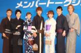 アリオ西新井の2015年イトーヨーカドー「恋★ゆかた」に登場したAAAのメンバー (C)oricon ME inc.