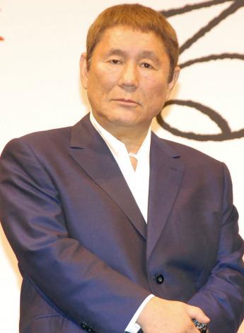 映画『女が眠る時』製作発表会見に出席したビートたけし (C)ORICON NewS inc.