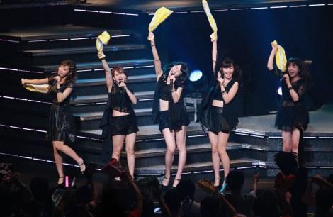 「ハロー!プロジェクト」メンバーが総出演する毎夏恒例のコンサート『Hello!Project 2015 SUMMER 〜DISCOVERY〜』に出演した℃-ute
