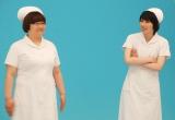 DVD『ベイマックスMovieNEX』の公開CM撮影に登場したハリセンボンの(左から)近藤春菜、箕輪はるか (C)ORICON NewS inc.
