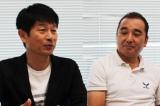 ドラマシーズン2からの新しい座組についても言及する鈴木雅之監督と脚本・福田靖氏(左)