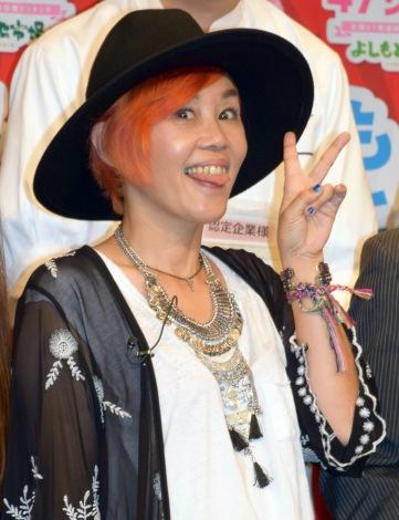 『よしもと47シュフラン2015』の認定式に出席した野沢直子 (C)ORICON NewS inc.