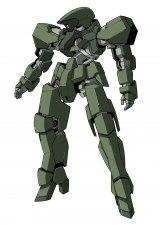 10月スタートの新作テレビアニメ『機動戦士ガンダム 鉄血のオルフェンズ』のグレイズのモビルスーツ(C)創通・サンライズ・MBS