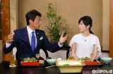 司会を務める(左から)11代目で現くいしん坊の松岡修造、高島彩アナウンサー