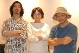 映画『東京無国籍少女』トークイベントに出席した(左から)金子ノブアキ、清野菜名 、押井守監督 (C)ORICON NewS inc.