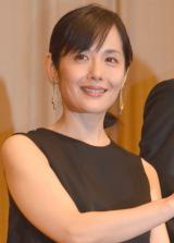 映画『この国の空』完成披露試写会に出席した富田靖子 (C)ORICON NewS inc.