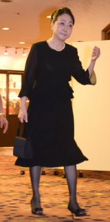 今井雅之さんの『お別れ会』に参列した麻丘めぐみ (C)ORICON NewS inc.