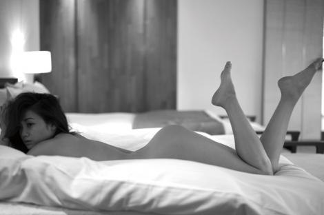 サムネイル ヌード撮影に挑戦した宮城舞