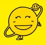 羽生結弦選手がデザインした笑顔マーク (C)日本テレビ