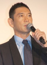 映画『HERO』初日舞台あいさつに出席した杉本哲太 (C)ORICON NewS inc.