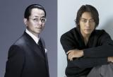 水谷豊(左)演じる杉下右京の新相棒に反町隆史が決定