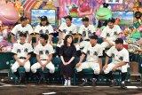 7月18日放送、テレビ朝日系『緊急アメトーーーーク高校野球大大大大好き栄冠は君に輝くSP!!』に出演する「高校野球大好き芸人」(C)テレビ朝日