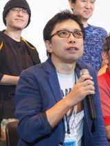 『日本アニメ(ーター)見本市』先行上映イベントに登壇した鶴巻和哉氏 (C)ORICON NewS inc.