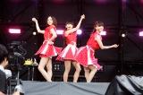『Amuse Fes2015 BBQ in つま恋 〜僕らのビートを喰らえコラ!〜』に出演したPerfume