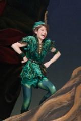 35周年を迎えたミュージカル『ピーターパン』初日公演を行った唯月ふうか