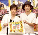 CDデビュー記念イベントを行った勝地涼(左)とプロデューサーの宮藤官九郎(C)広川智基