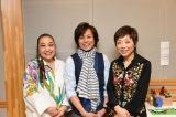 (左から)作詞担当の湯川れい子、プロデュース・作曲担当のつんく♂、クミコ