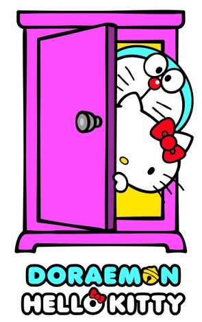 「DORAEMON × HELLO KITTY」 ? Fujiko-Pro ? 1976, 2015 SANRIO CO.,LTD.