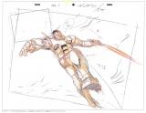 『機動戦士ガンダム展THE ART OF GUNDAM』テレビアニメ『機動戦士ガンダム』レイアウト原画(安彦良和 1979-82 年)(C)創通・サンライズ