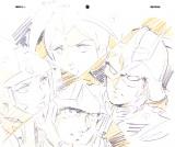 『機動戦士ガンダム展THE ART OF GUNDAM』テレビアニメ『機動戦士ガンダム』レイアウト原画(安彦良和 1979-82 年)(C)創通・サンライズ (C)oricon ME inc.