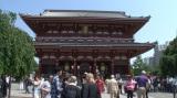 ロケ企画コーナーでは東京・浅草寺を訪問(C)テレビ朝日